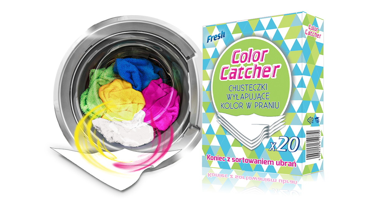 Салфетки Color Catcher